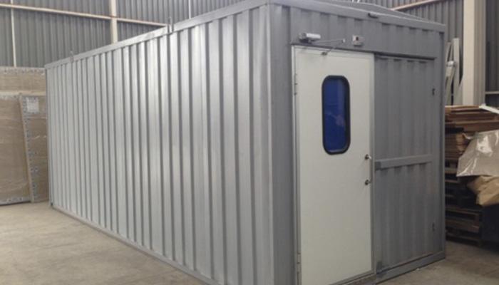 containers aislados
