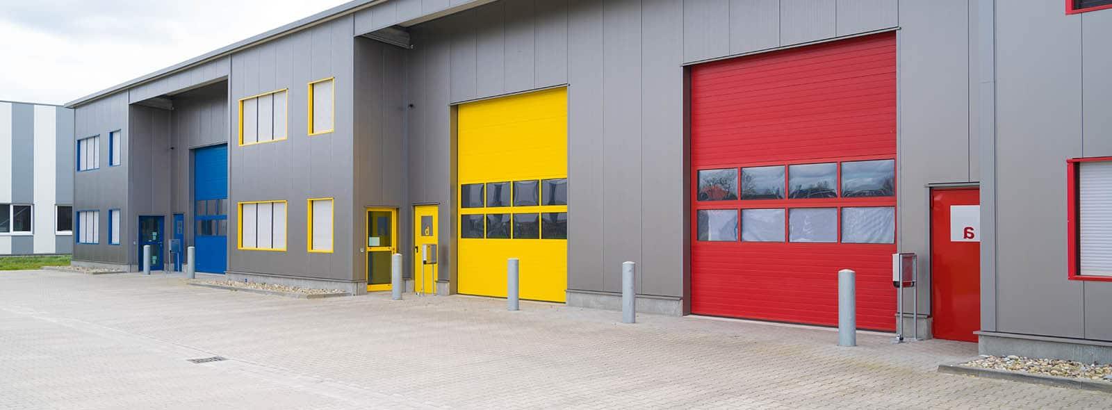 Puertas <br><span>Industriales</span>